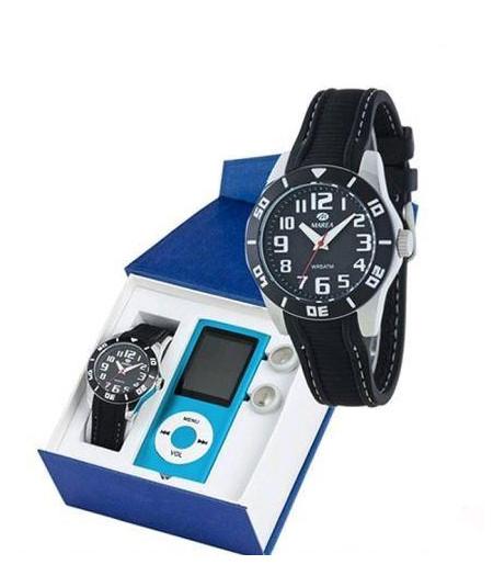 Reloj Marea, B41104-6, hombre, LED, silicona - B4110406