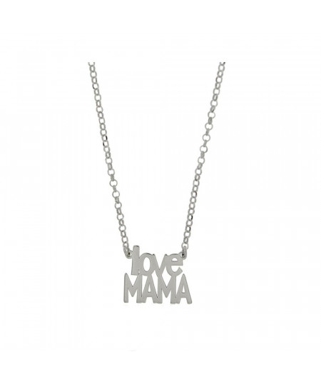 """Collar """"Love Mamá"""" Plata"""